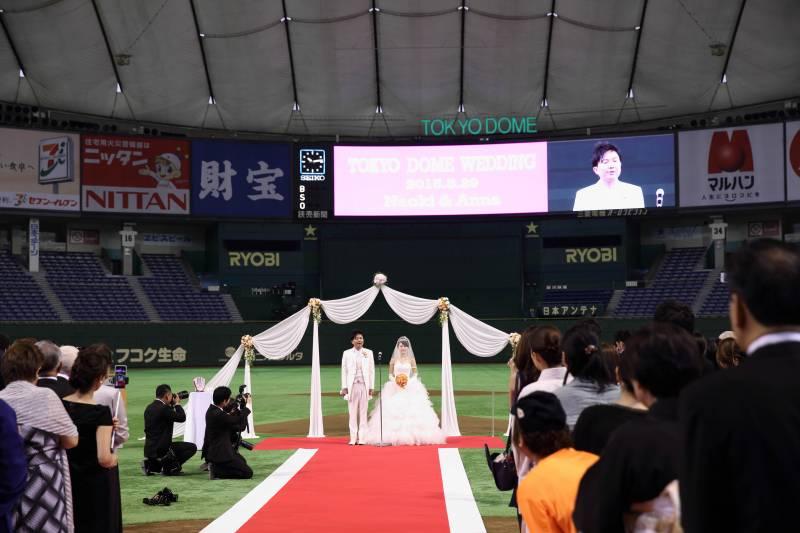 開業20周年記念!<br>東京ドーム挙式プラン<br>◇DIAMOND STORY 2020◇ 誕生